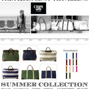 CRIPE SUMMER BAGS COLLECTION