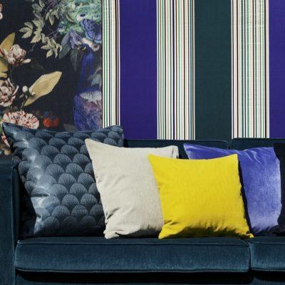 Fischbacher_Fabrics_Decor_2017_PeacockSociety14508_Forte1450_BelleEpoque14507_Ventura_VIP