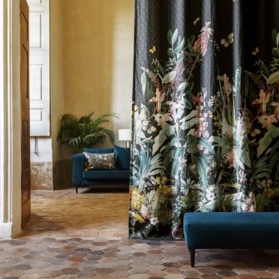 Fischbacher_Fabrics_Decor_2017_SoAvantgardening_14502_206_Ventura14546_ExoticGardening2045A