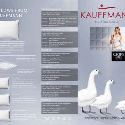 Kauffmann-Pillows