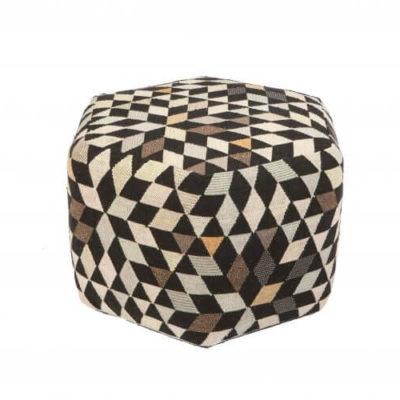 gorlan-triangles-pouf-diamond-medallion-blackcream-tall-700x500