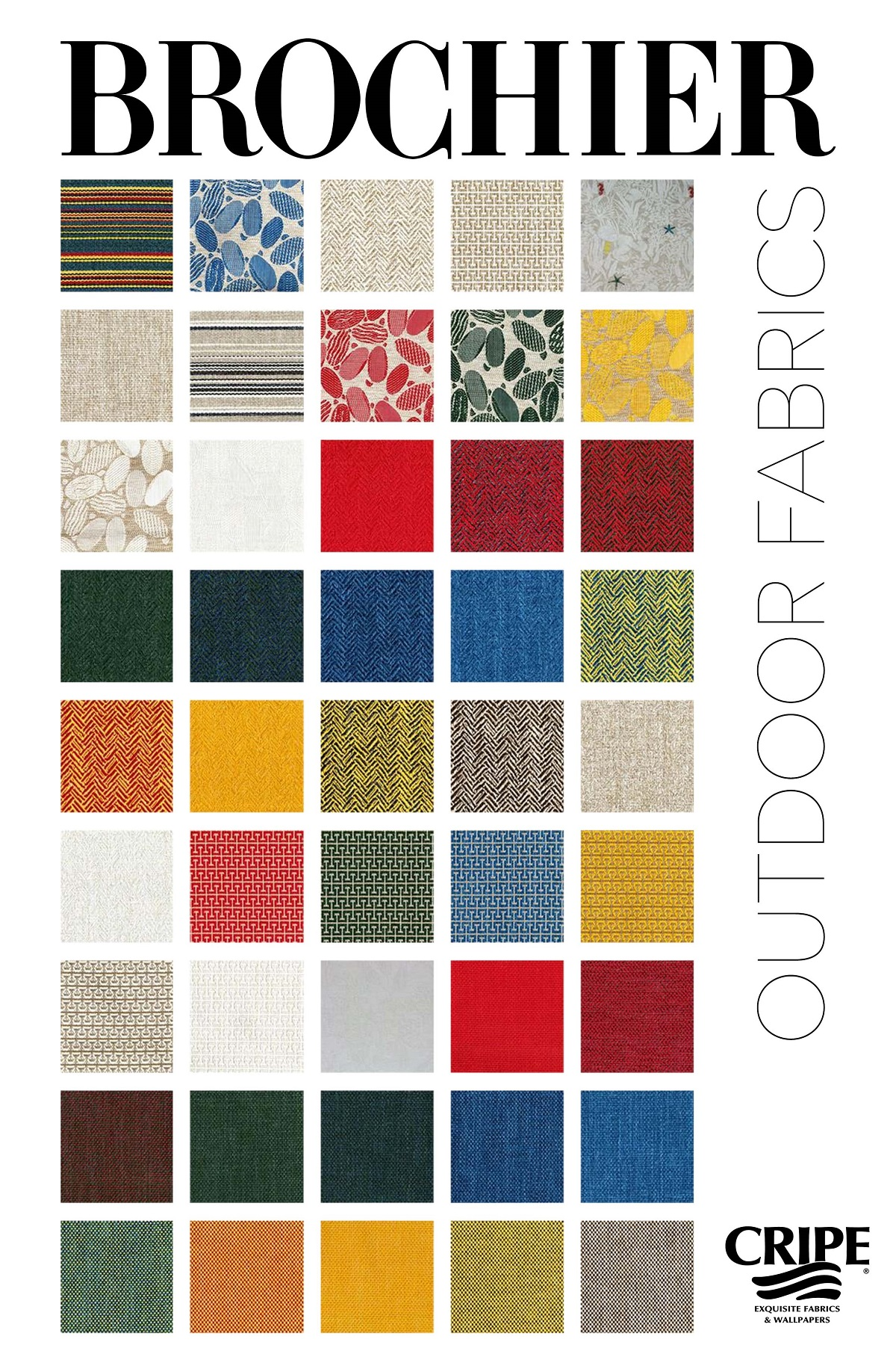 BROCHIER-Outdoor Fabrics-2018-CRIPE-a