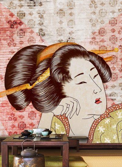 WallPepper-Levante-Classic-geisha