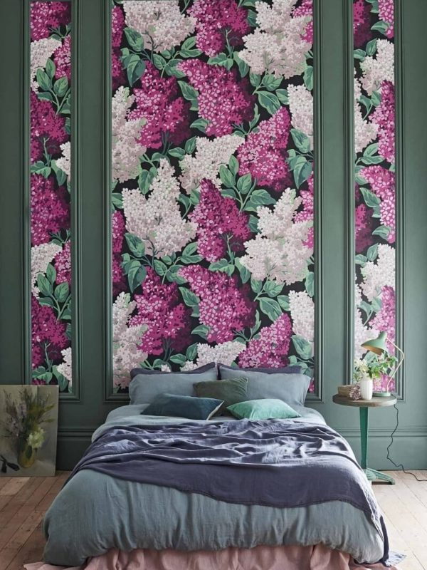 CRIPE-COLE and SONS-Wallpapers-Botanical Botanica-Lilac-grandiflora