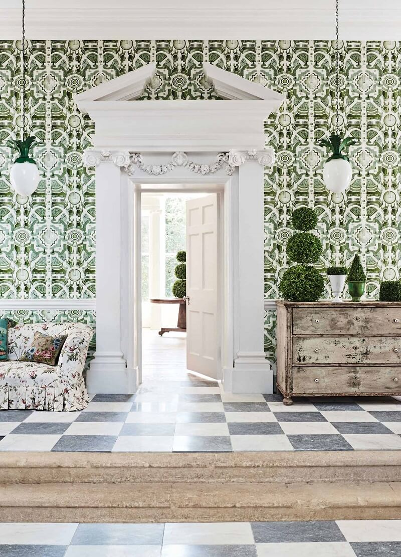 CRIPE-COLE and SONS-Wallpapers-Botanical Botanica-Topiary