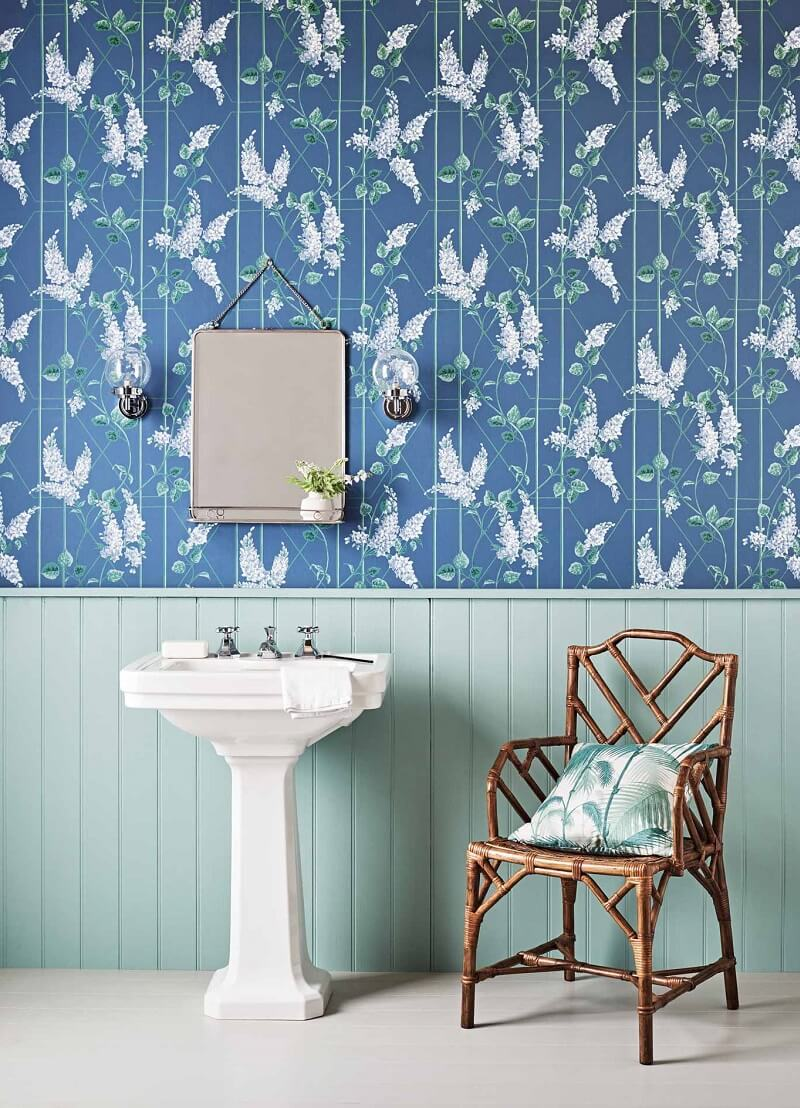 CRIPE-COLE and SONS-Wallpapers-Botanical Botanica-Wisteria
