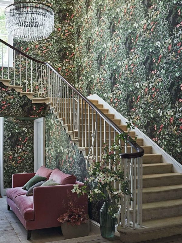 CRIPE-COLE and SONS-Wallpapers-Botanical Botanica-Woodland