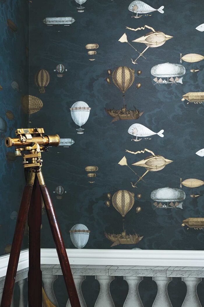 CRIPE-COLE and SONS-Wallpapers-Fornasetti-Acquario (2)