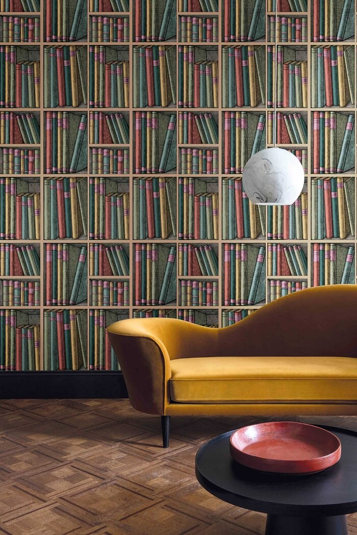 CRIPE-COLE and SONS-Wallpapers-Fornasetti-Ex-libris