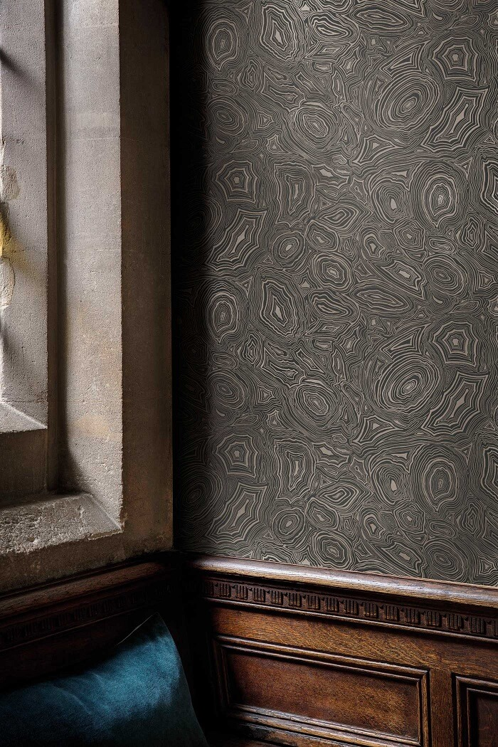 CRIPE-COLE and SONS-Wallpapers-Fornasetti-Malachite