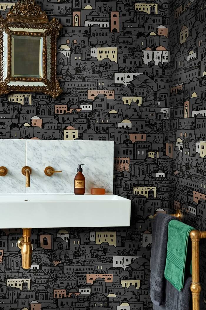 CRIPE-COLE and SONS-Wallpapers-Fornasetti-Mediterranea