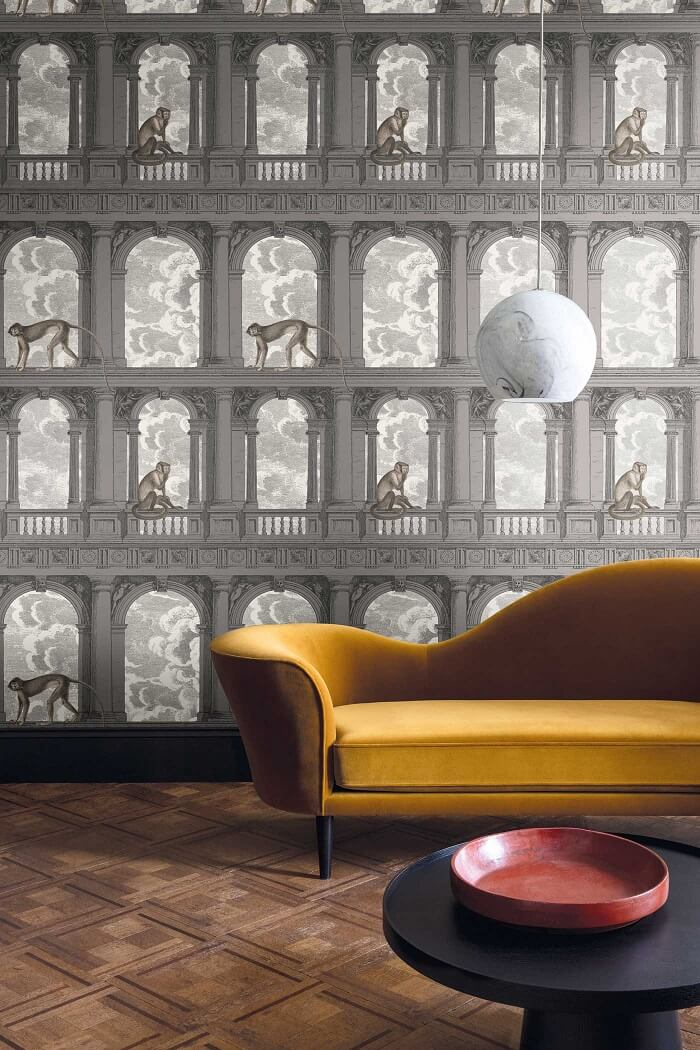 CRIPE-COLE and SONS-Wallpapers-Fornasetti-Procuratie-con-vista