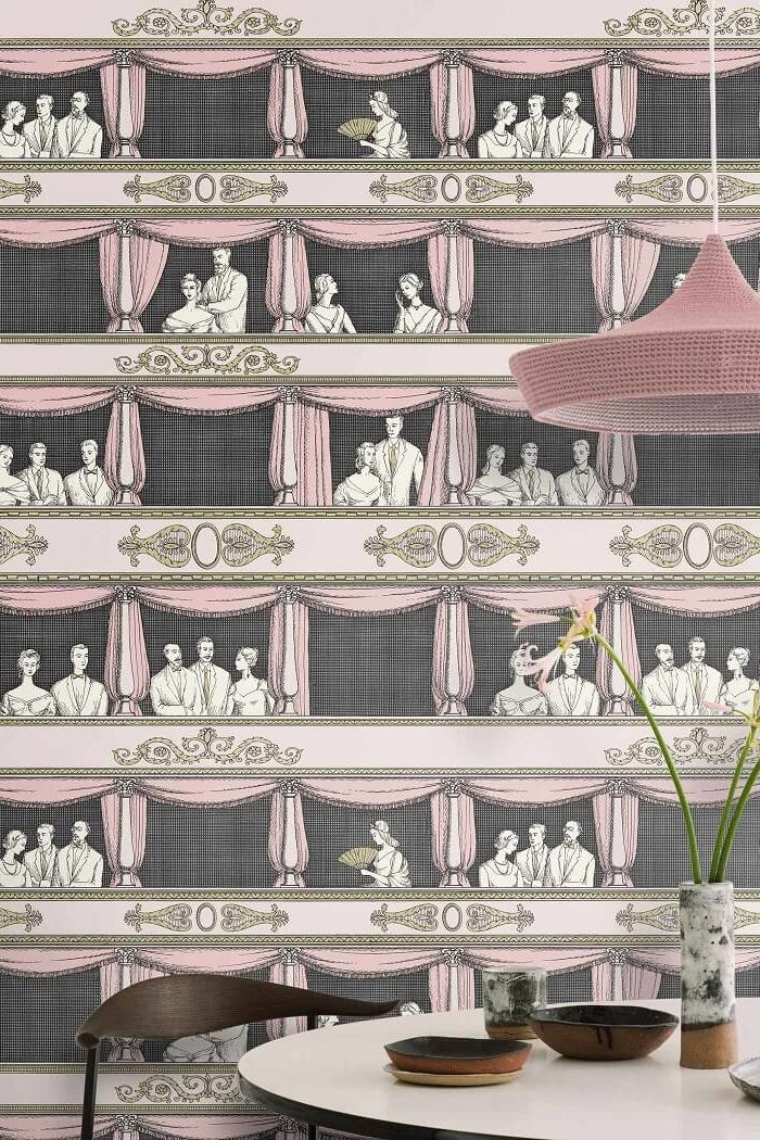 CRIPE-COLE and SONS-Wallpapers-Fornasetti-Teatro