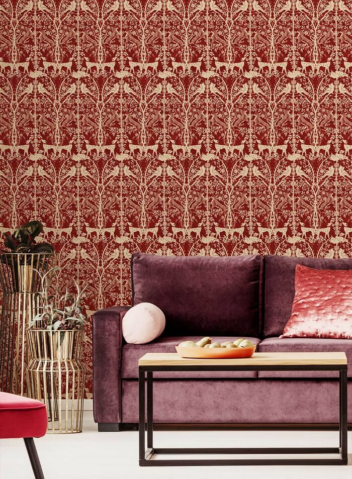 CRIPE-WallPepper-OPALINE-JUNGLE-TAPESTRY