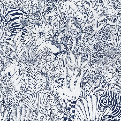 HERMES-2019-FABRICS-ANIMAUX CAMOUFLES FINESSE ENCRE
