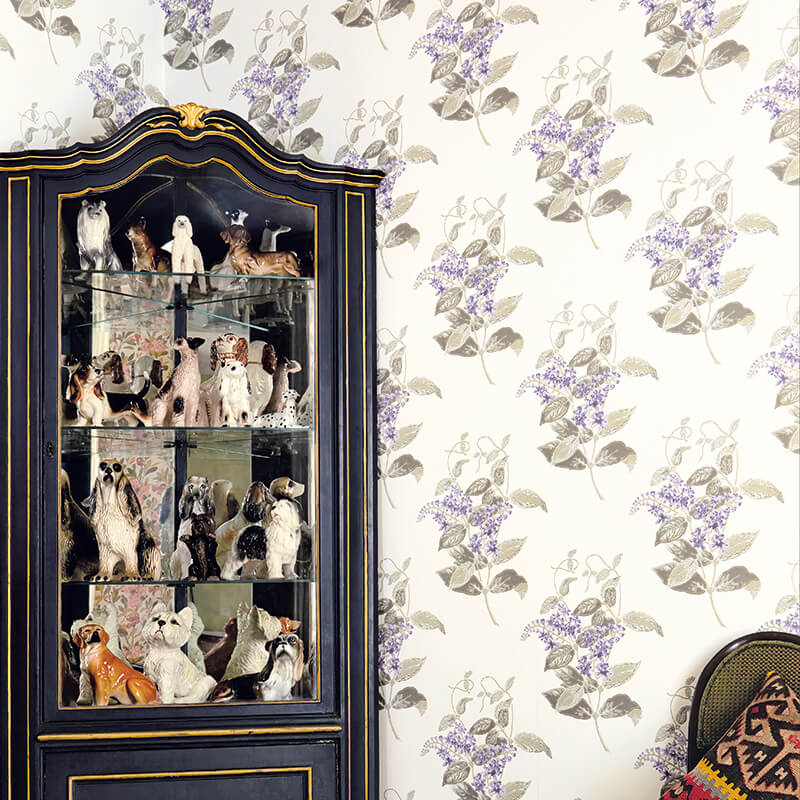 CRIPE-COLE and SONS-Wallpapers-Archive Anthology-Madras-Violet
