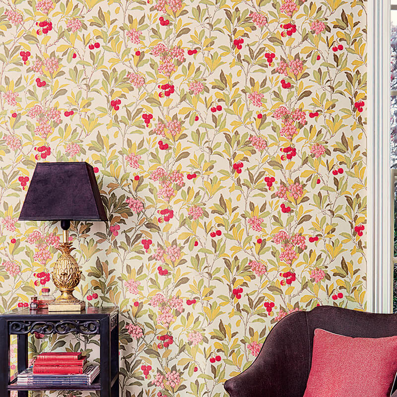 CRIPE-COLE and SONS-Wallpapers-Archive Anthology-Strawberry-tree