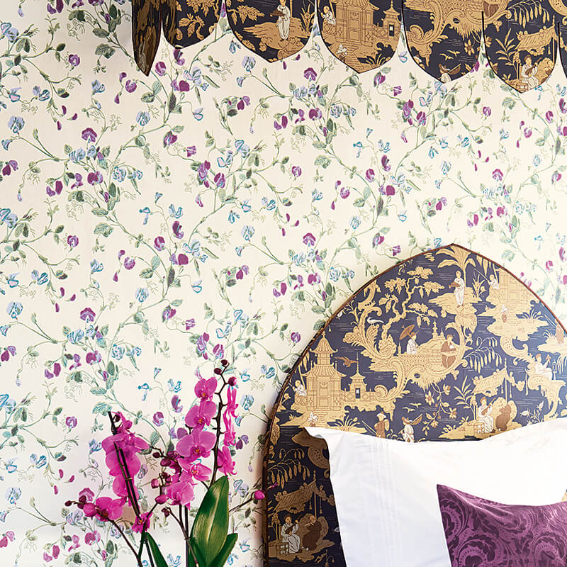 CRIPE-COLE and SONS-Wallpapers-Archive Anthology-Sweet-Pea